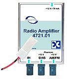 Antennentechnik Bad Blankenburg Rundfunkverstärker (AM/FM, DAB/DAB+) mit integriertem Splitter