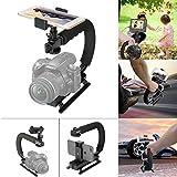 Fantaseal Kamera Stabilizer 4-in-1 Smartphone + Action Kamera + Camcorder + Spiegelreflexkamera Stabilisator Action Kamera C-Stabilizer Kamera...