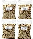4er Pack - Sojabohnen [ 4 x 1kg ] Grundlage für viele Gerichte in der vegetarischen Küche