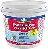 Söll 11605 FadenalgenVernichter - Besonders effizent & ergiebig - Sicher in der Anwendung - 2,5 kg