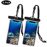 UNBREAKcable Universal wasserdichte Handyhülle - 6,6 Zoll IPX8 Handytasche Wasserdicht (Dry Bag) kompatibel für iPhone X, iPhone 8, iPhone 6, Huawei...