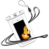 YOSH Wasserdichte Handyhülle Beutel Schwimmen Tauchen Kanu Wassersport für iPhone X/8/7/6/6s Plus für Samsung S9/S8/S7/S6/S5/A5 für Huawei für...