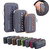 Amazon Marke: Eono Essentials Mikrofaser Handtücher, klein, leicht und ultra saugfähig - das perfekte Sporthandtuch, Reisehandtuch,...