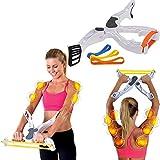 NOBGP 2er Packung Wonder Arms Workout Machine System Übung mit 3 Widerstandstrainingsbändern Fitnessgeräte für Frauen Töne Stärken Bizeps...