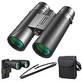 Kylietech Ferngläser für Erwachsene 12x42 kompakte Fernglas für Vogelbeobachtung, Wandern, Jagd, Sightseeing, Kleines Fernglas mit...