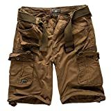 Geographical Norway Cargo Shorts Hunter mit UD Bandana Kaki - XXL -