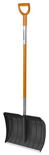 Fiskars Schneeräumer für kleine und große Schneemengen, Blattbreite: 52 cm,...