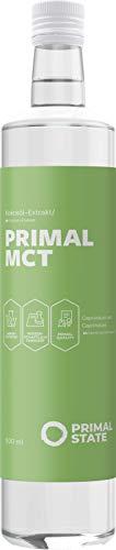 Primal State MCT Öl - Optimal für Bulletproof Coffee mit 70% Caprylsäure und...