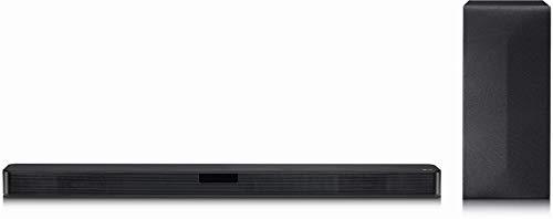 LG SL4Y DTS Virtual:X, 2.1 Soundbar (300W mit drahtlosem Subwoofer) schwarz,...
