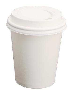 Lid for Coffee to Go Mug-Ø 90 mm-with drinking hole-Black 100 Piece