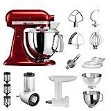 KitchenAid Küchenmaschine Artisan | 5KSM175PSECA | STARTER...