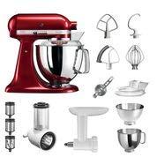 KitchenAid Küchenmaschine Artisan | 5KSM175PSECA | STARTER PAKET inkl....
