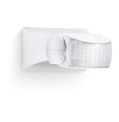 Steinel Bewegungsmelder IS 1 weiß, für innen und außen, 120° Bewegungsmelder, 10 m Reichweite, Auf- und Unterputz, IP54