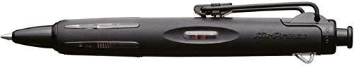 Tombow BC-AP12 Kugelschreiber Air Press Pen mit innovativer Druckluftechnik, vollschwarz