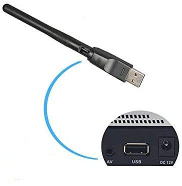 USB-WiFi-Adapter mit Antenne, 2,4GHz, 150Mbps, 11N...