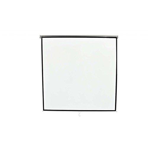 Festnight Rolloleinwand Projektionsleinwand Als Heimkino-Leinwand 203x203cm für die LCD, DLP Beamer und Heimanwendungen