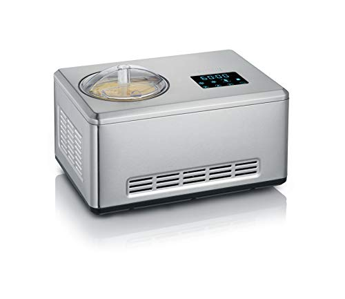 Severin 2-in-1 Eismaschine mit Joghurtfunktion, Inkl. 2 Eisbehälter (je 2L) und...