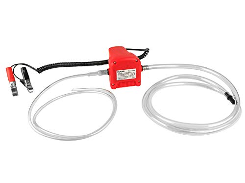 /Ölpumpe Absaugpumpe Pumpe Dieselpumpe /Öl elektrisch Wolketon /Ölabsaugpumpe 12V 4l//min 80 Watt