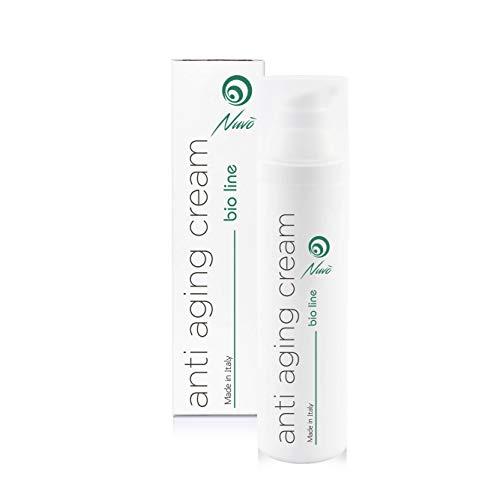 Nuvo' Gesichtscreme mit 72% Schneckenschleim, Hyaluronsäure, Traubenkernöl,...