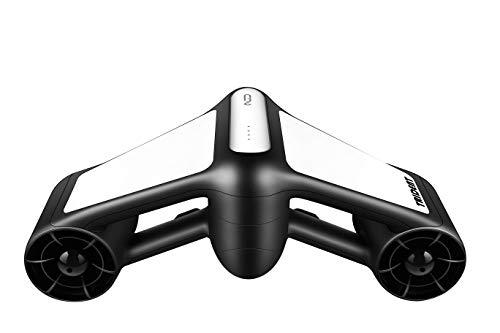Geneinno Trident Unterwasserscooter Tauchscooter Seascooter schwarz/weiß