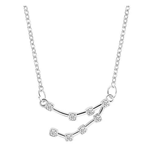 Yowablo Halsketten Frauen Mode Constellation Anhänger...