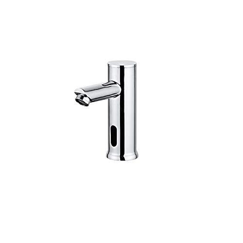 KIODS Wasserhahn Badezimmer automatische Infrarot-Sensor Waschbecken berührungslose Becken DC 6V Batterie Wassereinsparung heiß und kalt
