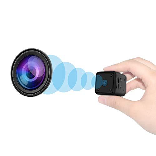 Mini Kamera, 1080P HD Kleine Überwachungskamera mit Bewegungserkennung und...