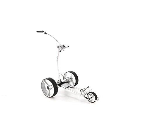 Elektro-Golftrolley BeeGon GT X400 Pro USB Silver Edition