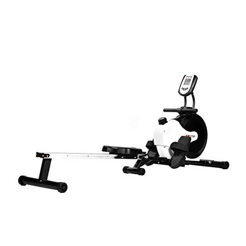 AsVIVA RA11 Rudergerät Ergometer Rower Cardio XI mit 8 manuellen Widerstandsstufen inkl. Multifunktionscompukter mit Pulsmessung für das...