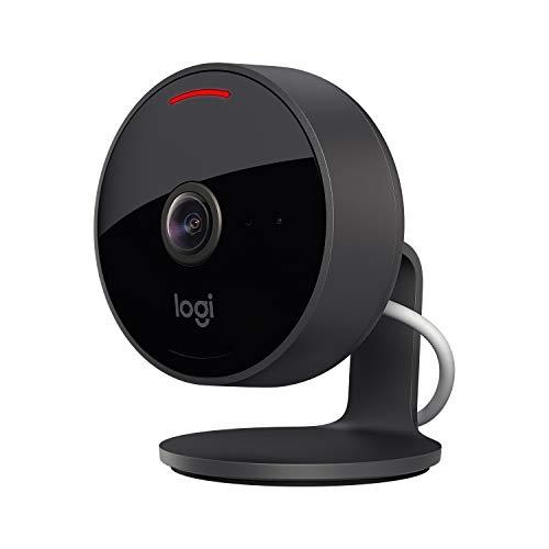 Logitech Circle View - wetterfeste kabelgebundene Überwachungskamera für zu...