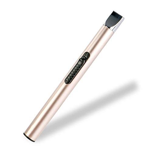 REIDEA Lichtbogen Stabfeuerzeug USB Aufladbar Feuerzeug, Lang Elektronisch Lichtbogen Feuerzeug/Arc Lighter für Kerzen, Feuerwerk, Küche Grill,...