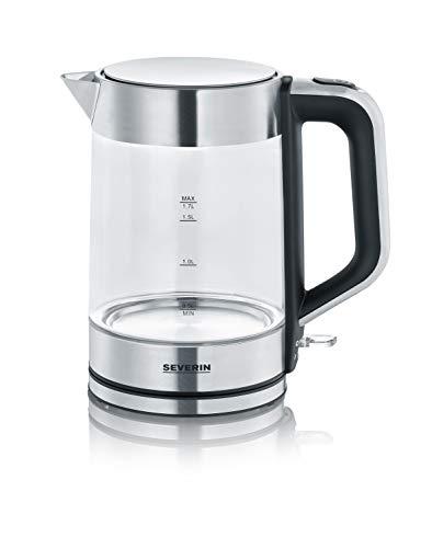 Emerio WK 119988 glass kettle, 1.7 litre, 2200 Watt, LED