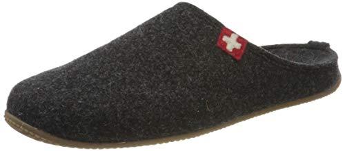 Living Kitzbühel Unisex-Erwachsene Pantoffel Schweizer Kreuz mit Fußbett...
