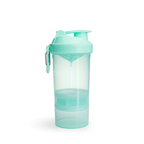 Smartshake Unisex– Erwachsene O2GO Trinkflasche, Mint, 600ml