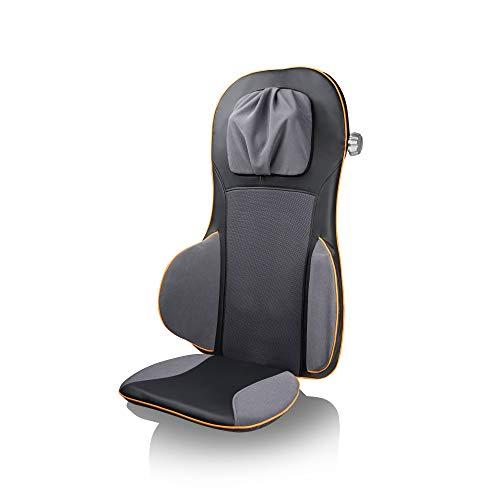 Medisana MC 825 Shiatsu Massageauflage, Massagesitzauflage mit Akupressur, Nackenmassage, Wärmefunktion, 3 Intensitäten, Rotlichtfunktion, mit...