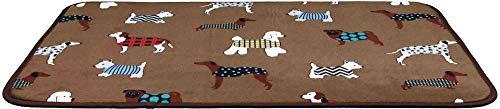 Trixie 37123 Liegematte FunDogs, 70 × 50 cm, braun