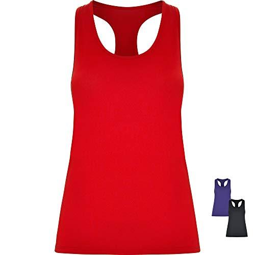 GO HEAVY Damen Funktions Yoga Sport Tank Top