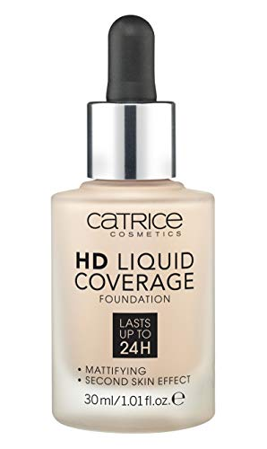 Catrice Make-up HD Liquid Coverage Foundation Light Beige 10, 150 g