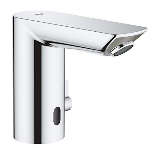 GROHE Bau Cosmopolitan E | Infrarot-Elektronik für Waschtisch, mit einstellbarem Temperaturbegrenzer | chrom | 36451000