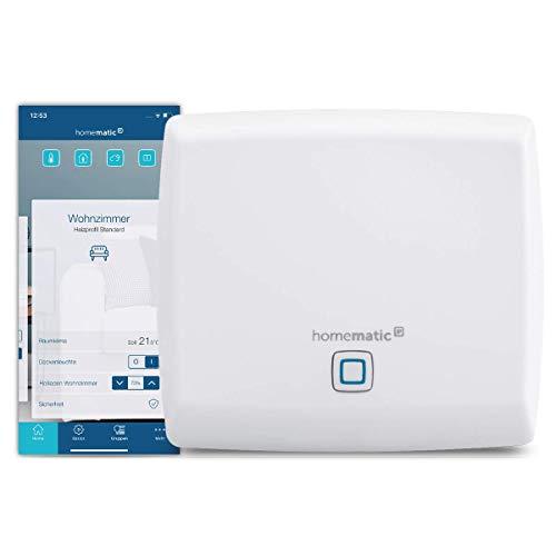Homematic IP Access Point - Smart Home Gateway mit kostenloser App und Sprachsteuerung über Amazon Alexa, 140887A0
