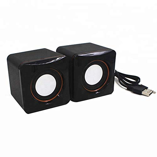 Nuoke Cube-Lautsprechersystem, Subwoofer USB-Mini-Lautsprecher, Geeignet Für...