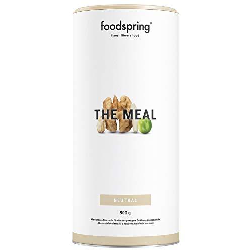 foodspring The Meal, 900g, Ausgewogene und vollwertige Mahlzeit als Shake, Trinkfertig in Sekunden
