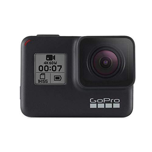 GoPro  HERO7  Schwarz  -  wasserdichte  digitale  Actionkamera  mit  Touchscreen,  4K-HD-Videos,  12-MP-Fotos,  Livestreaming,  Stabilisierung