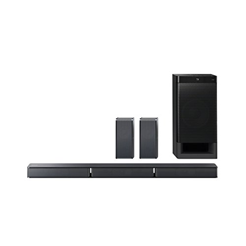 Sony HT-RT3 5.1-Kanal Soundbar (600 W Ausgangsleistung, NFC, Bluetooth, Dolby...
