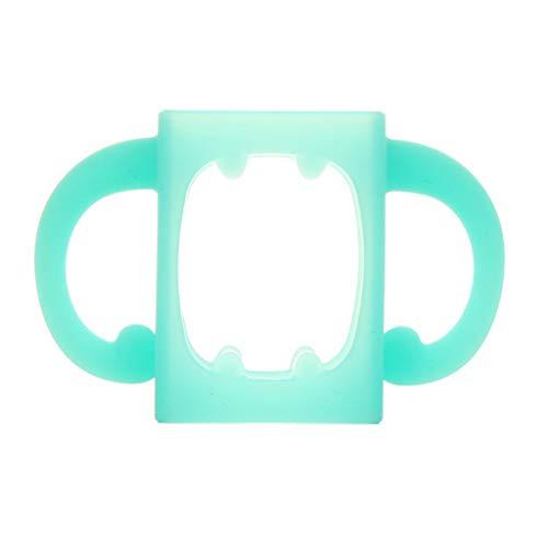 Easy Grip Kunststoffgriff Weithalsflaschengriff f/ür Avent Natural Serie OurLeeme 5 Packs Baby-F/ütterung Stillflaschenhalter