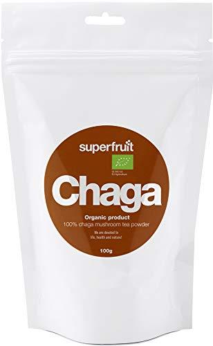 Superfruit Chaga-Pulver aus Finnland Thiamin-B1-Quelle 100% Natürlich...