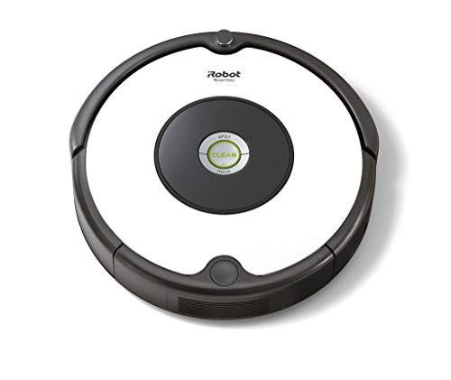 iRobot Roomba 605 Saugroboter mit 3-stufigem Reinigungssystem, Dirt Detect Technologie, Staubsauger Roboter, selbstaufladend mit Ladestation, geeignet...