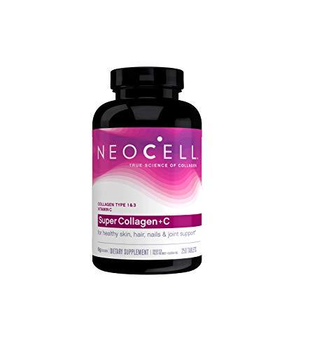 Neocell   Super Collagen + Vitamin C   Typ 1 & 3   6.000 mg   250 Tabletten   glutenfrei   lactosefrei