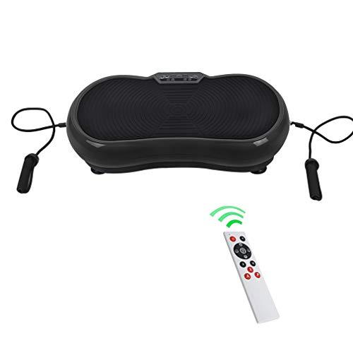 Homgrace Vibrationsplatte Vibrationsgerät Abnehmen Trainingsgerät Zuhause Fitness Shaper mit LCD Display, Fernbedienung und Trainingsbänder...