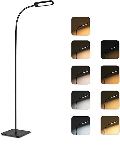 Gulvlampe, TECKIN Dimmbar LED 12W gulvlampe, ...